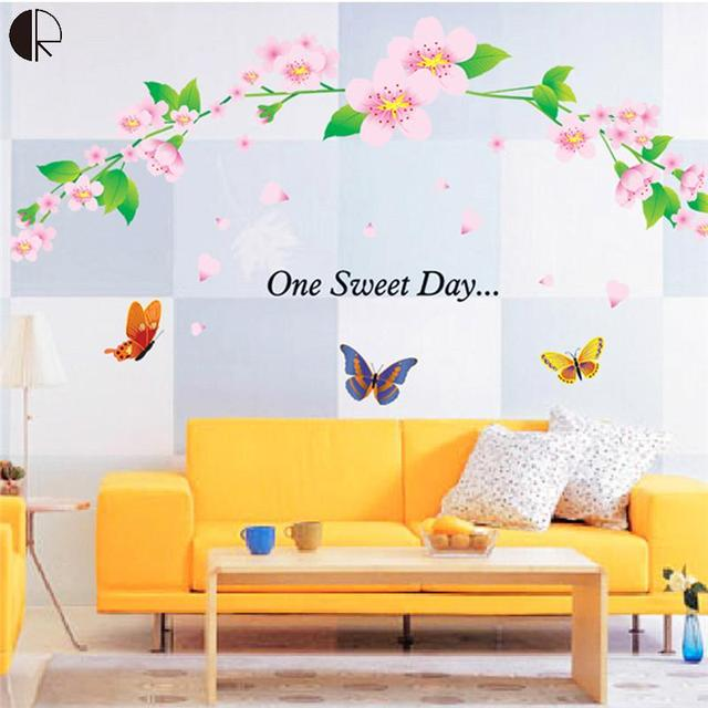 One Sweet Day Removable Plastic Home Decor Wall Stickers Creative ...