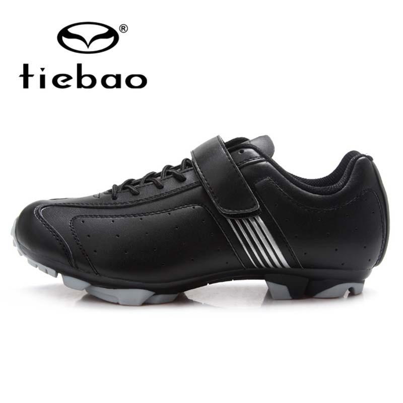 Tiebao Professional Vintage Style Bike Bicycle <font><b>Shoes</b></font> Mountain Bike MTB Cycling <font><b>Shoes</b></font> SPD Cleated Athletic Self-Locking <font><b>Shoes</b></font>