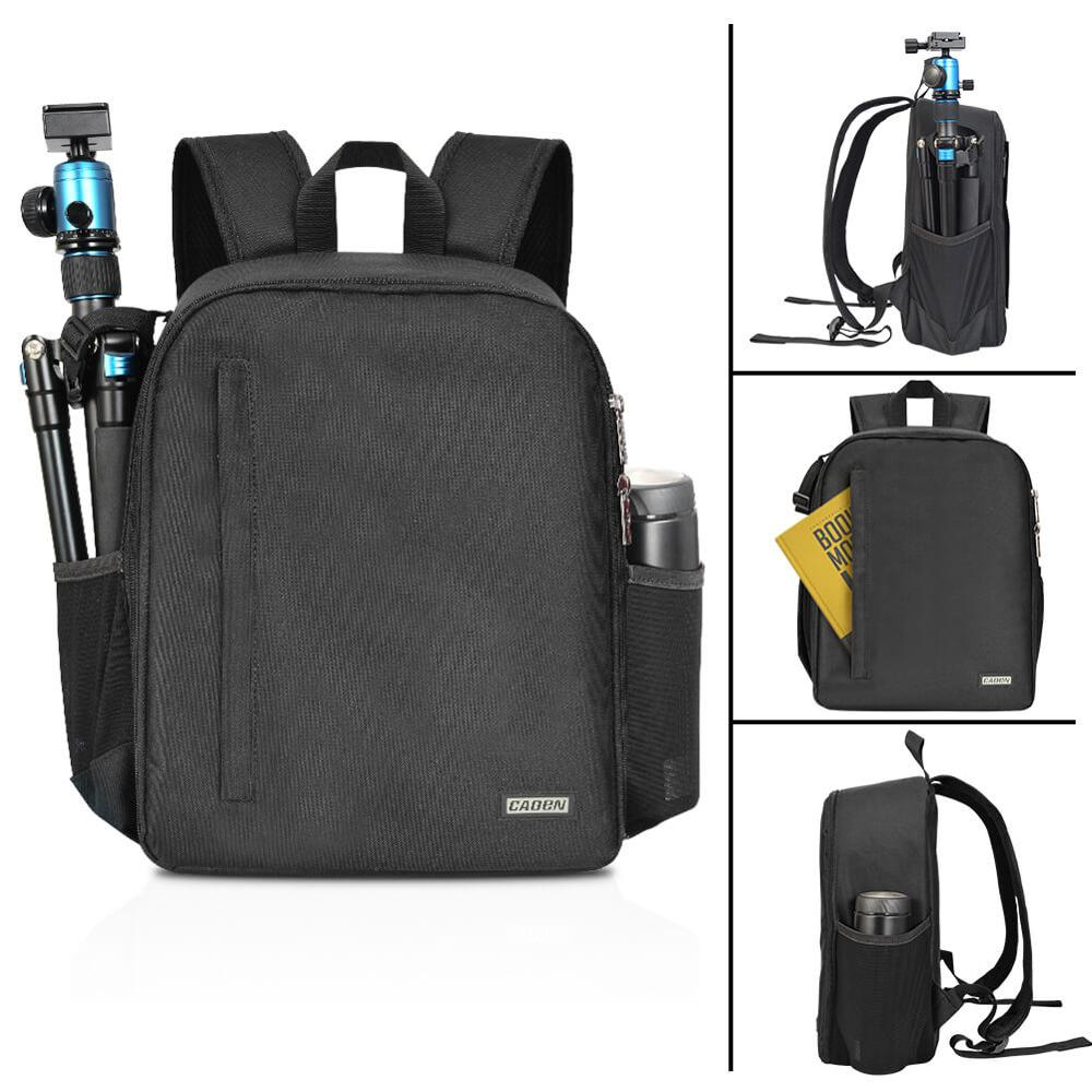 Image 5 - CADeN Multi functional Camera Backpack Video Digital DSLR Bag Waterproof Outdoor Camera Photo Bag Case for Nikon/ Canon DSLR-in Camera/Video Bags from Consumer Electronics