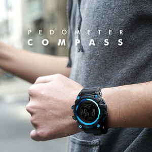 Image 3 - SKMEI S הלם צבאי ספורט שעונים מצפן מד צעדים קלוריות זכר שעון דיגיטלי עמיד למים אלקטרוני שעונים גברים שעוני יד
