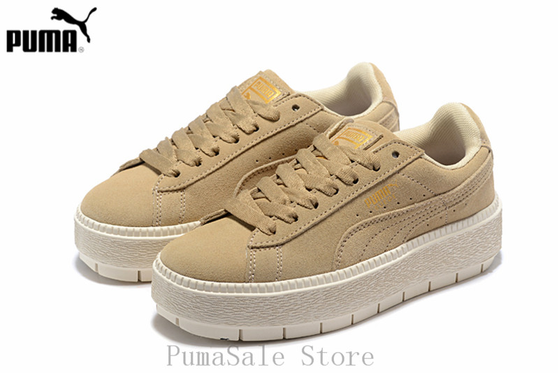 b8b2786ef5eb Detail Feedback Questions about Original New Arrival 2018 PUMA Womens  Platform Trace WNS Suede Trainers Badminton Shoes 365830 02 Sneaker Size  35.5 40 on ...