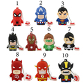 Spider man super hero avengers punisher usb stick usb 2.0 usb flash drive/creativo pendrive/memory stick creativo/disco 2/4/8/16