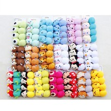 tsum tsum mini head bands elastics Mickey Hair accessory  Minnie mouse rubber band toys for girls peluche doll