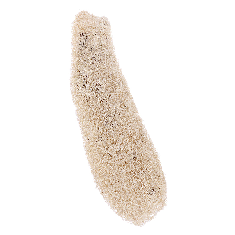 Natural Healthy Loofah Bath Shower Wash Body Pot Bowl Sponge Scrubber Spa bathroom accessories