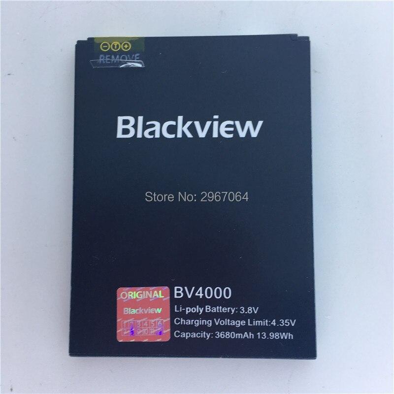Mobile téléphone batterie Blackview BV4000 batterie 3680 mAh batterie D'origine Haute capacit Mobile Accessoires Long temps de latence