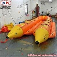 Озеро водный серфинг надувная лодка банан корабль 12 человек летающая рыба буксируемый
