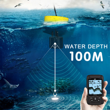LUCKY FF718LiD Wireless Fish Finder 200KHz/83KHz Dual Sonar Frequency Sonar & Wired Transducer Alarm Fish Detector Waterproof