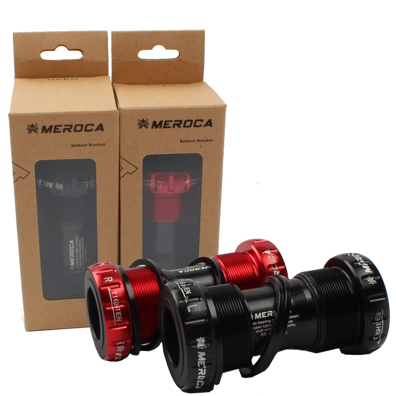 MEROCA Mtb Bike Bottom Bracket Threaded Bicycle