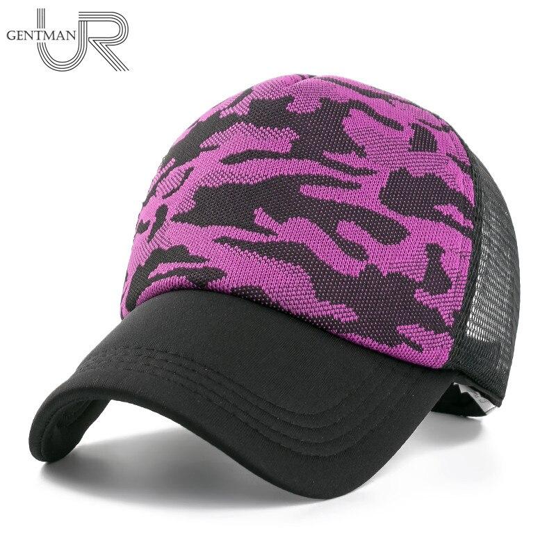 Neue, Qualitativ hochwertige Frauen Baseballkappe Camouflage Mesh Caps Für Frauen Sommer Kühl Hut Kappe Einstellbare Multicolor Hysteresenhut