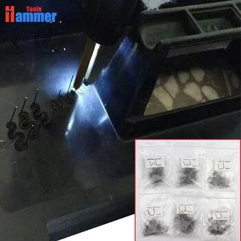 600 шт 0,8 мм 0,6 мм скобы для сварки пластмасс штапель для горячего степлера пластиковый сварочный аппарат