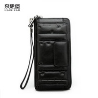New Luxury Women Bags Fashion Superior Cowhide Women Wallets Genuine Leather Clutch Bag Women Leather Multi