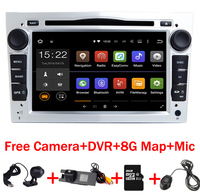 7 HD 1024X600 Android 7.1 Car DVD GPS Navigation for Opel Astra Vectra Antara Zafira Wifi 3G BT Radio USB SD Free Camera+DVR