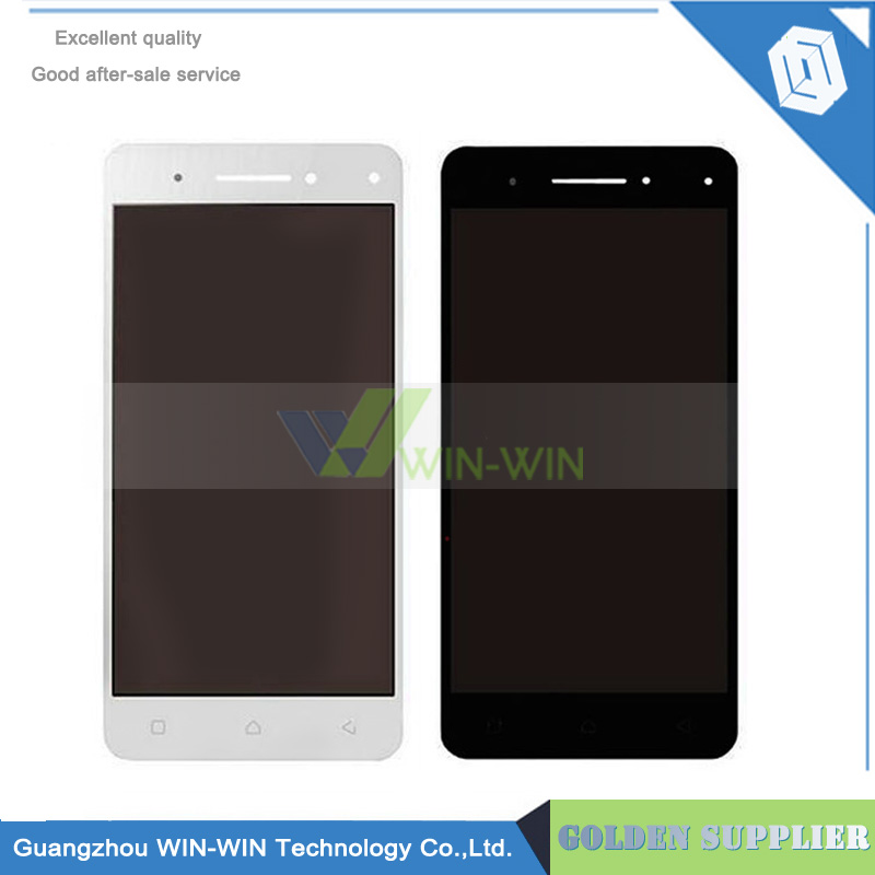 Black/White For Lenovo VIBE S1 LCD Display Touch Screen Digitizer Assembly Replacement Parts + Tools Free Shipping vibe x2 lcd display touch screen panel with frame digitizer accessories for lenovo vibe x2 smartphone white free shipping track
