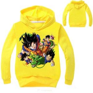 Детская толстовка Dragon Ball Z Vegeta, Детская толстовка с капюшоном для мальчиков и девочек, футболка с длинным рукавом, верхняя одежда с капюшоном