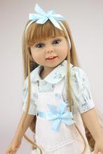 18 polegada Artesanal Cheio Vinil Americano doce Menina Boneca Reborn Bebês Brinquedos bebe Chilldren Presente de Aniversário bonecas