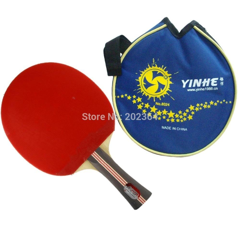 Galaxy / Milky Way / Yinhe 03B (03 B, 03-B) Pips-In Table Tennis Racket (Shakehand) with Case for Ping Pong galaxy milky way yinhe shiryu katana z5 vf volcanics fiber table tennis blade for ping pong racket