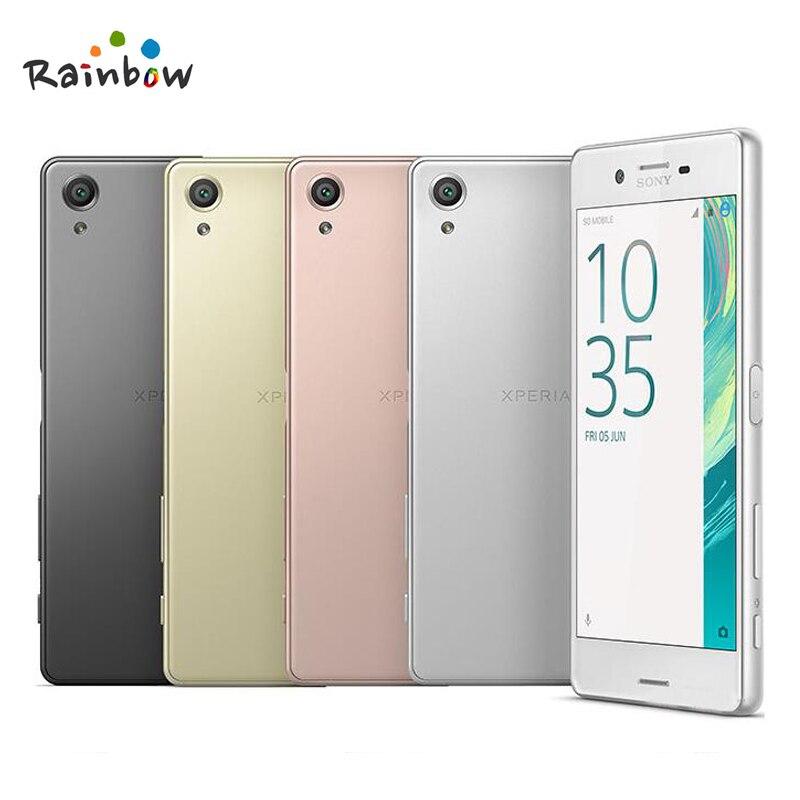 Sony Xperia X F5121 Cellulaire D'origine Téléphone Android 3G RAM 32 GB ROM Hexa Core GPRS GPS Wi-Fi 5.0 pouces Écran Tactile 2620 mAh