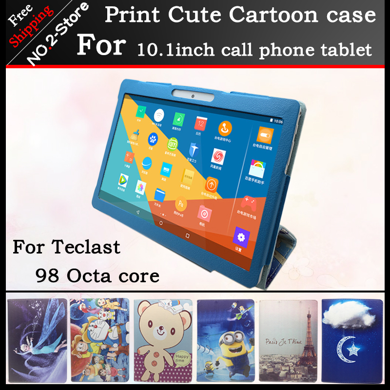 Fashion Cute Character Stand Protector Cover Case For Teclast 98 Octa core 10.1inch tablet pc , Multi pattern have in stock цена 2017