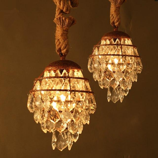 Online Shop Crystal Hanglamp Moderne Lamp Cluster Verlichting Loft ...
