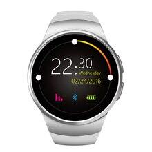 2017 оригинал kingwear kw18 bluetooth smart watch full screen support sim tf карты smartwatch телефон heart rate for apple передач s2