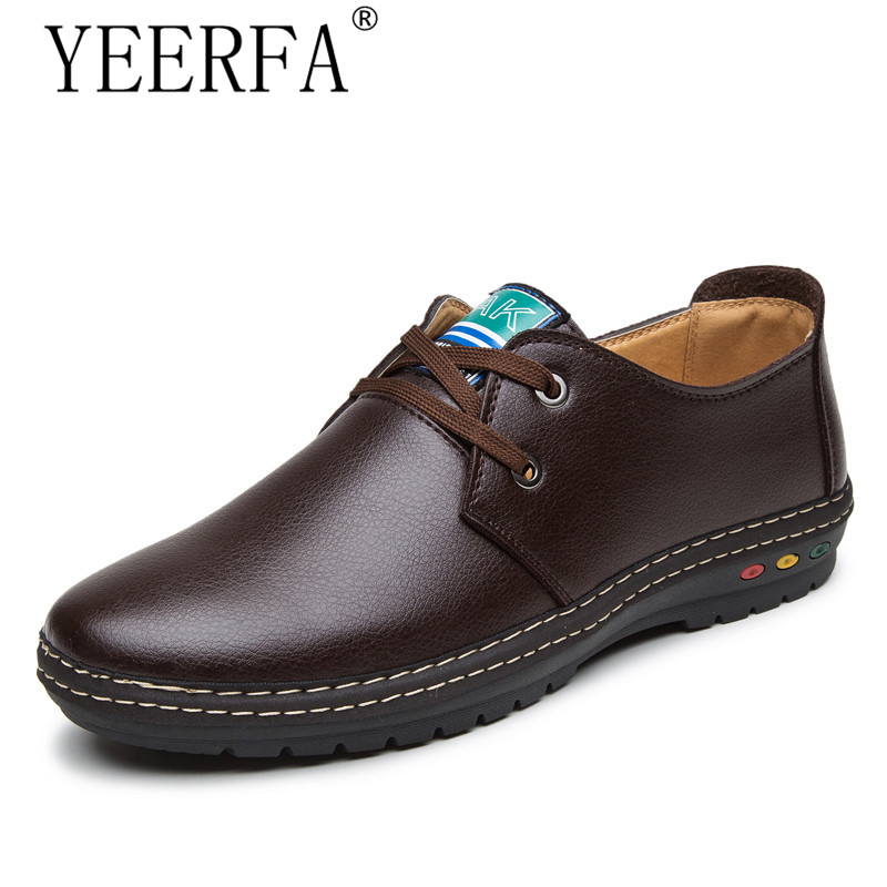 YIERFA Winter Genuine Leather Men casual shoes warm and comfortable loafers Soft Leather Autumn Men's Handmade chaussure homme top brand high quality genuine leather casual men shoes cow suede comfortable loafers soft breathable shoes men flats warm