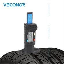 0 25.4 Mm Digitale Tire Verbruik Gauge Lcd scherm Resolutie 0.01 Mm Batterij Uitgesloten