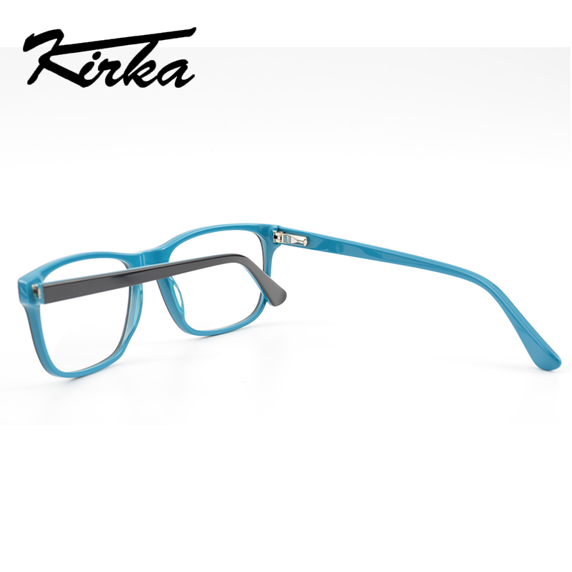 Kirka Men Glasses Frame Optical 2019 Vintage Men Clear Lens Prescription Spectacles Acetate Eyewear Eyeglasses Frame For Men in Men 39 s Eyewear Frames from Apparel Accessories