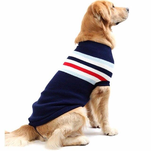 Cómodo perro perrito Sudaderas ropa perro suéter de punto invierno ...