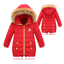 Keep Warm Winter Jacket for Girls and Boys Cute Down Coat with wings Hooded Winter White