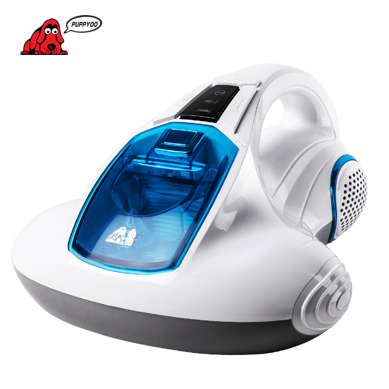 PUPPYOO Vacuum Cleaner Bed Home Collector UV Acarus Killing Household Vacuum Cleaner for Home Mattress Mites-Killing WP601
