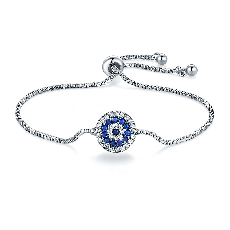 European Fashion Hot Sale Bracelet for Women Crystal Embellishment Charm Bridal Wedding Party Gift Jewelry Accessories