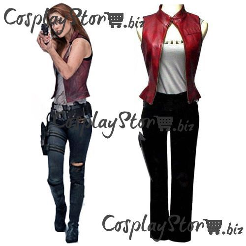 Resident Evil Costumes Afterlife Claire Cosplay Costume