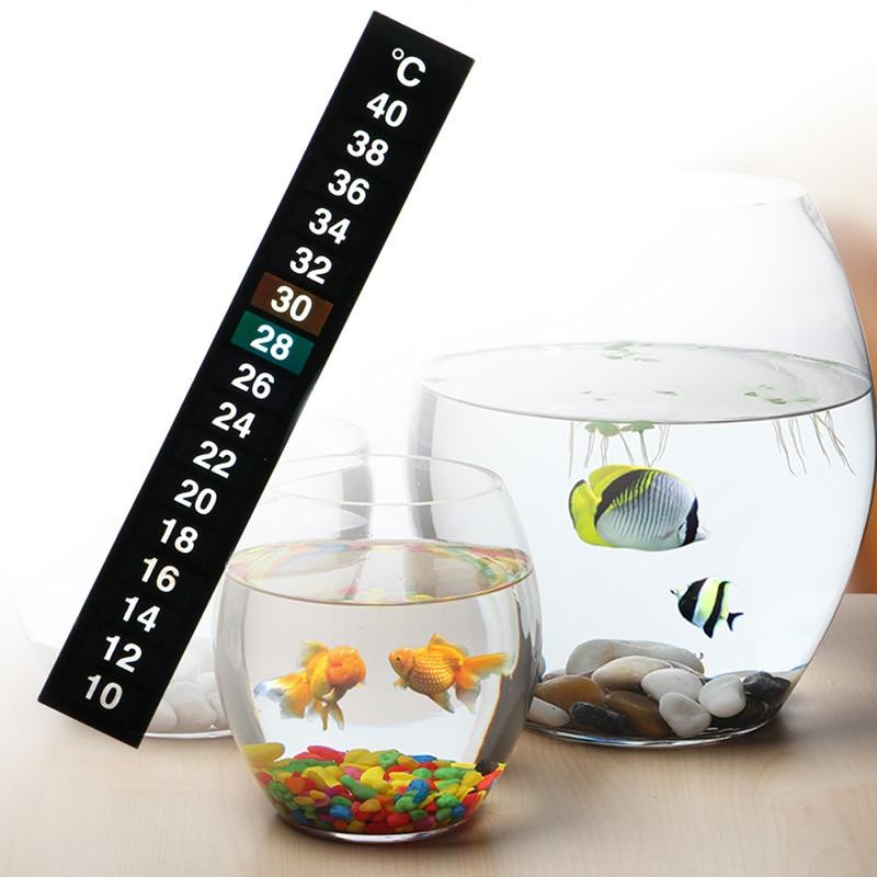 1pcs Digital Aquarium Fish Tank Thermometer Temperature Sticker Stick-On