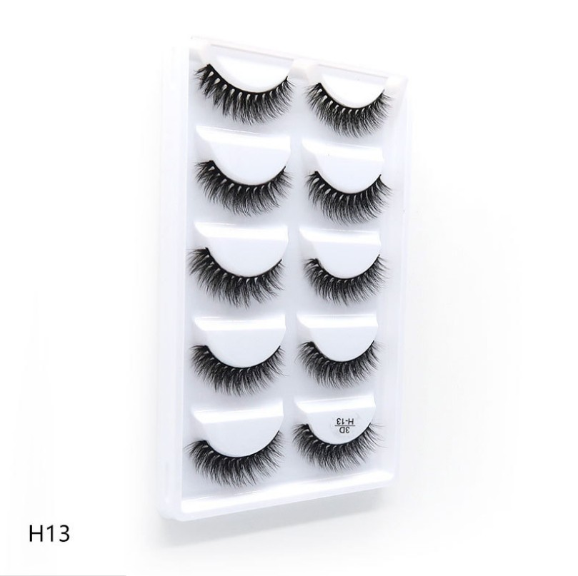 False Eyelashes Dramatic 3D Mink Lashes Long Lasting Eye Lashes Make Up Fake Eyelashes Faux Mink Eyelashes Natural