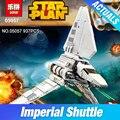Nueva LEPIN 05057 Serie Star Imperial Shuttle Tydirium Montado Bloques de Construcción Ladrillos Juguetes Compatible con 75094 Regalos