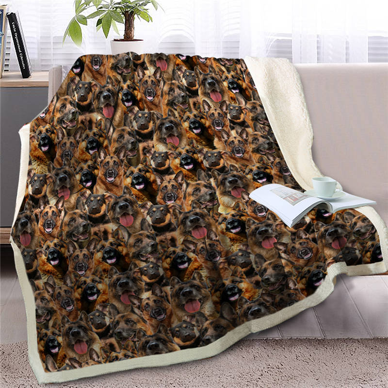 Floral Life Is Better With Pomeranian Around Quilt Blanket