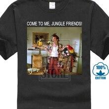 Ace Ventura Pet Detective Come To Me Jungle Friends Adult T Shirt Funny Movie