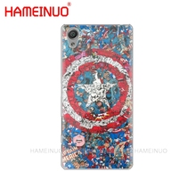HAMEINUO The Avengers batman marvel Cover phone Case for sony xperia C6 XA1 XA2 XA ULTRA X XP L1 L2 X XZ1 compact XR/XZ PREMIUM