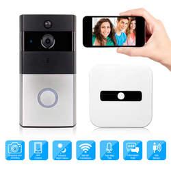 Беспроводной видео дверной звонок WiFi камера IP 720 P кольцо дверной Звонок двухстороннее аудио приложение управление iOS Android батарея питание