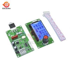 Image 5 - ЖК цифровой импульсный датчик точечной сварки, модуль контроллера 100A 40A для литиевой батареи 18650/аккумуляторной точечной сварки