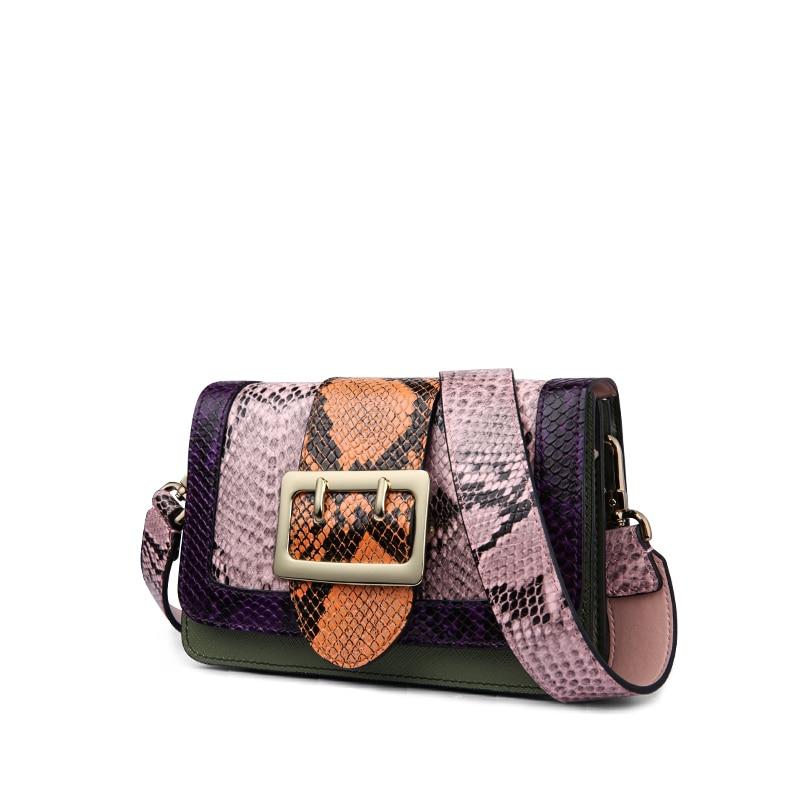 ¡CALIENTE! Bolso de cuero genuino para las mujeres diseñador de - Bolsos - foto 2