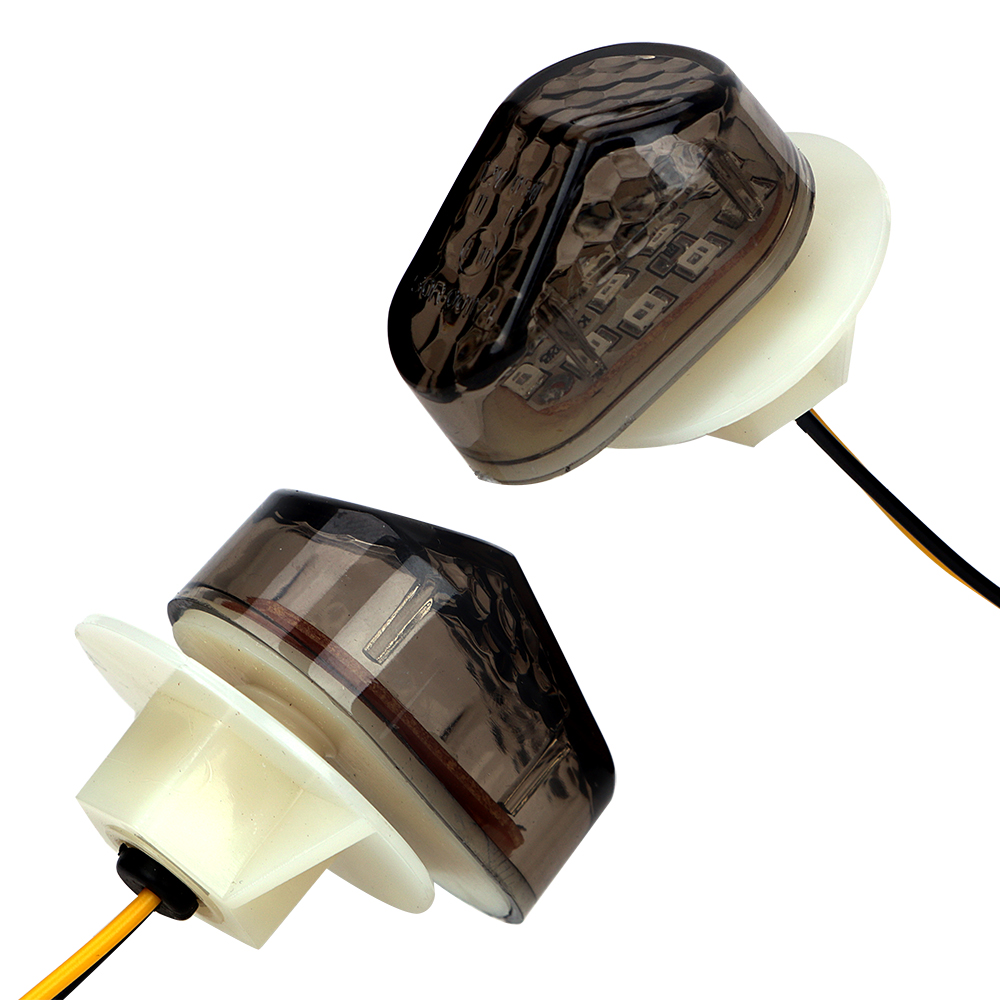 2 Pieces/Set Indicator Lamp Motorcycle Lighting Motorcycle Accessories For Turn Signal Lights Universal Flasher Light