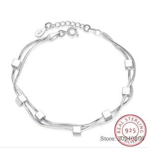 925 Sterling Silver Bracelet S
