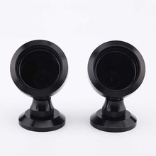 2PCS Audio Car Tweeter Aluminium Base Speaker Boxes High quality Black som automotivo Car Speakers