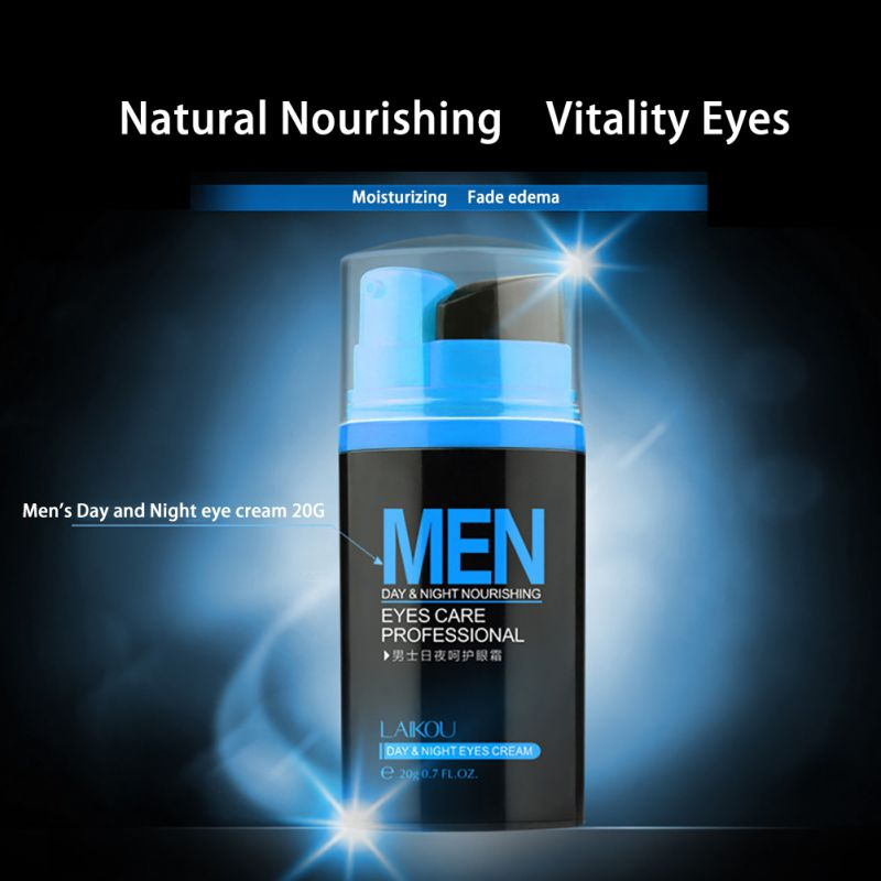 Men Day And Night Anti-wrinkle Firming Eye Cream Skin Care Black Eye Puffiness Fine Lines Wrinkles Face Care Product 4