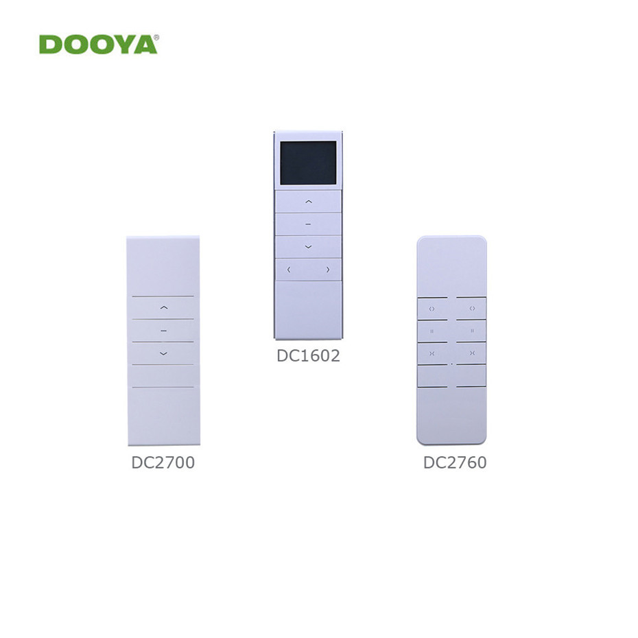 Dooya Remote Controller DC2760 DC2700 DC1602 DC92 For Dooya Electric Curtain Motor KT320/DT52/KT82TN/DT360, Curtain Accessories