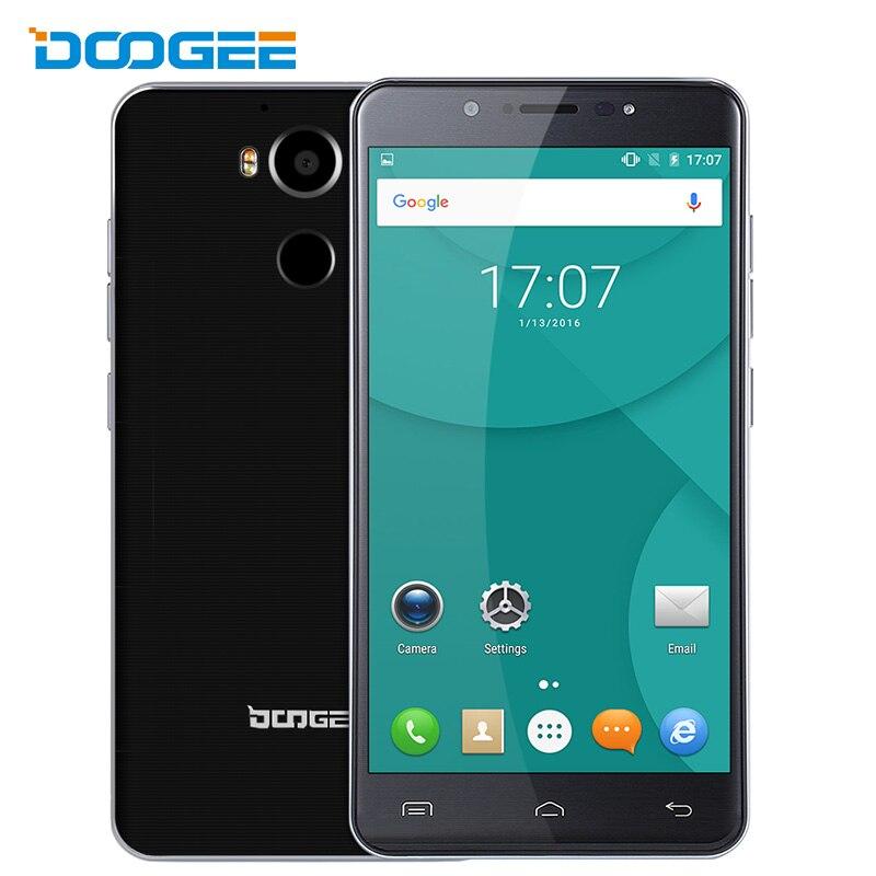 bilder für Ursprüngliche doogee f7 handy mt6797 deca core 5,5 zoll android 6,0 fingerprint OTG 3 GB RAM 32 GB ROM 4000 mAh 4G LTE Smartphone