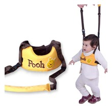 Baby Toddler With Cartoon Dual-use Learning Line Anti-Lost Walking Walker Traction Rope