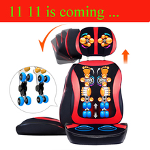 11 11 Cheap 220V Neck massage cushion, 6D full body Shiatsu massage chair, hot compresses vibration kneading back massage device