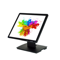 17inch touch screen monitor,LCD cctv monitor for pos/cctv kiosk